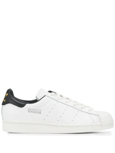 Adidas Originals White 'superstar Pure Los Angeles' Low Rise Sneakers