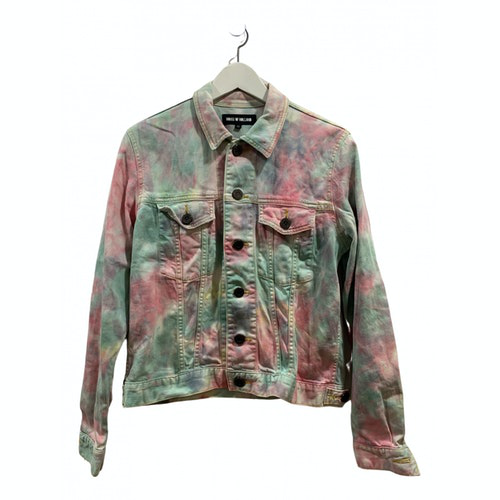 Pre-owned House Of Holland Multicolour Denim - Jeans Jacket