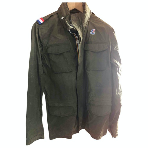 Pre-owned K-way Green Jacket