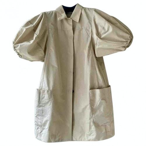 Pre-owned Miu Miu Beige Coat