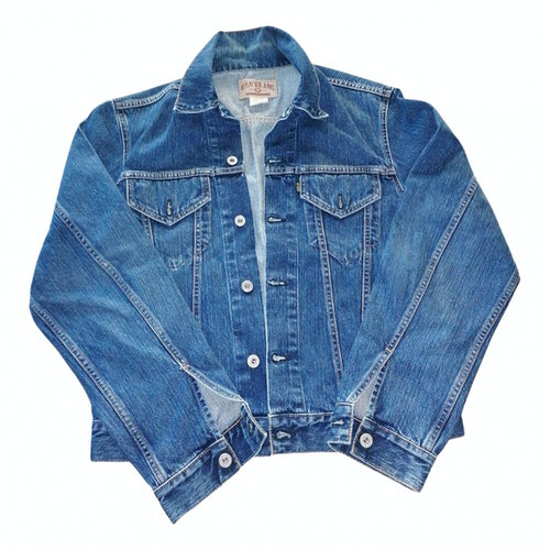 Pre-owned Replay Blue Denim - Jeans Jacket