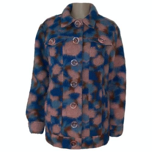 Pre-owned Manoush Multicolour Wool Coat