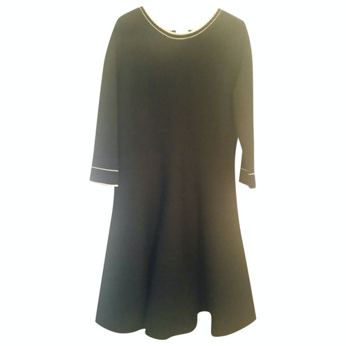 Pre-owned Blumarine Black Wool Dress