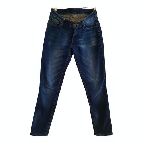 Pre-owned Levi's Blue Denim - Jeans Jeans