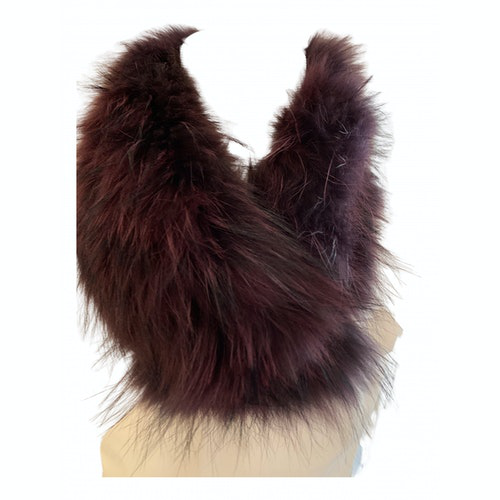 Pre-owned Seventy Fur Scarf