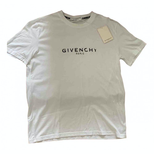 Pre-owned Givenchy White Cotton T-shirts