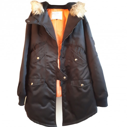 Pre-owned Mcq By Alexander Mcqueen Black Coat