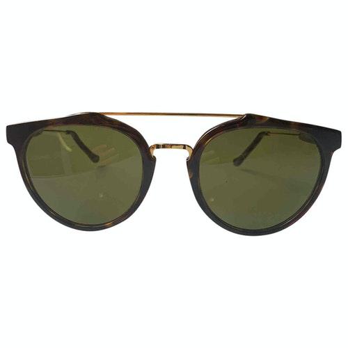 Pre-owned Retrosuperfuture Brown Sunglasses
