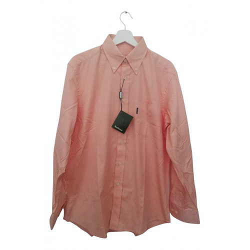 Pre-owned Barbour Pink Cotton Shirts