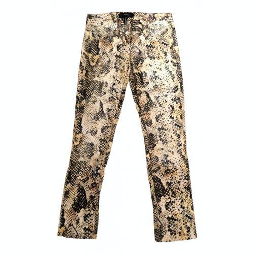 Pre-owned Isabel Marant Multicolour Cotton Jeans