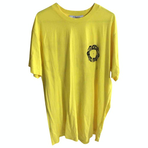 Pre-owned Givenchy Yellow Cotton T-shirts