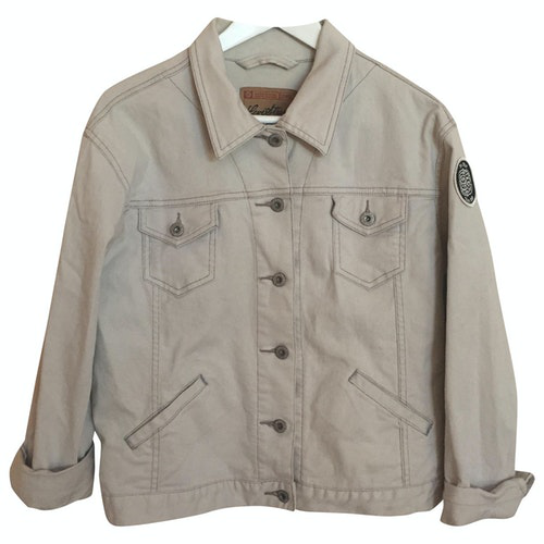 Pre-owned Levi's White Denim - Jeans Jacket