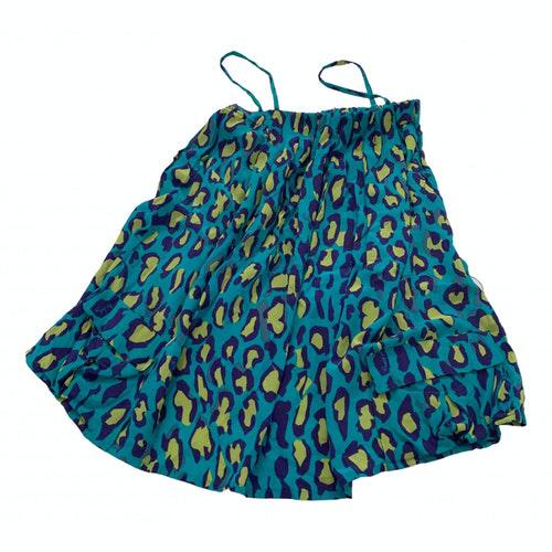 Pre-owned Iceberg Multicolour Silk Dress