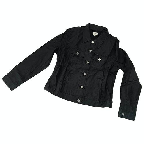 Pre-owned Calvin Klein Black Cotton Jacket