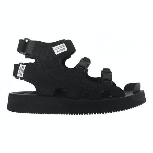 Pre-owned Suicoke Black Rubber Sandals