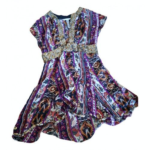 Pre-owned Diane Von Furstenberg Multicolour Glitter Dress