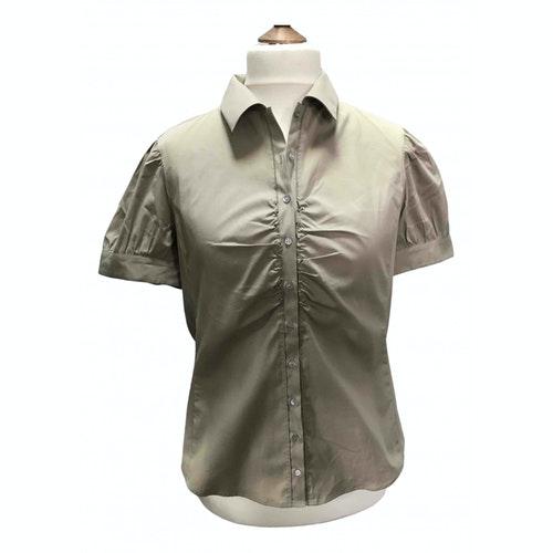 Pre-owned Hugo Boss Beige Cotton  Top