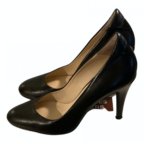 Pre-owned Comptoir Des Cotonniers Black Leather Heels