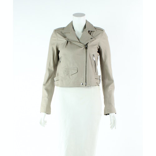 Pre-owned Iro Beige Leather Jacket