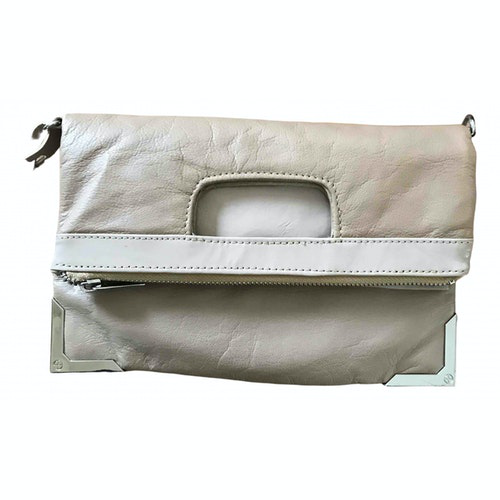 Pre-owned Topshop Tophop  Leather Clutch Bag
