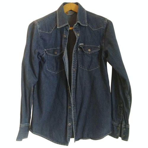 Pre-owned Carhartt Blue Denim - Jeans Shirts