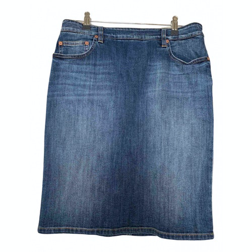Pre-owned Closed Blue Denim - Jeans Skirt