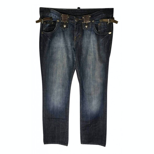 Pre-owned Dsquared2 Blue Denim - Jeans Jeans