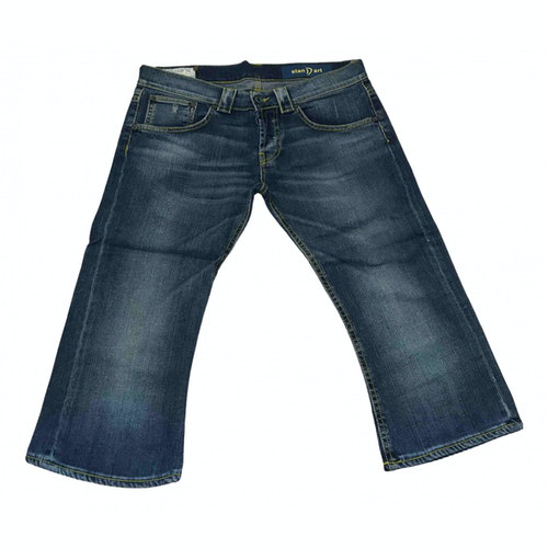 Pre-owned Dondup Blue Cotton Jeans