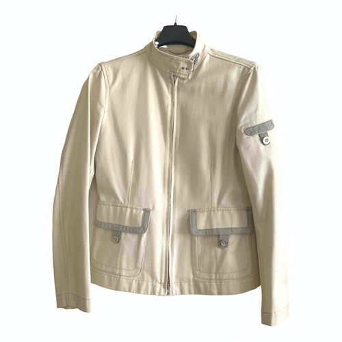 Pre-owned Fay Beige Cotton Jacket