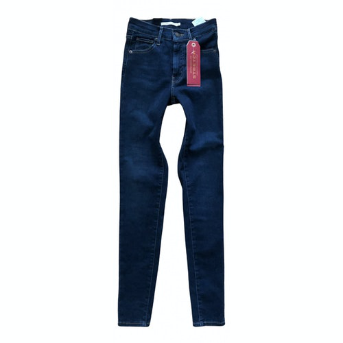Pre-owned Levi's 501 Blue Cotton - Elasthane Jeans