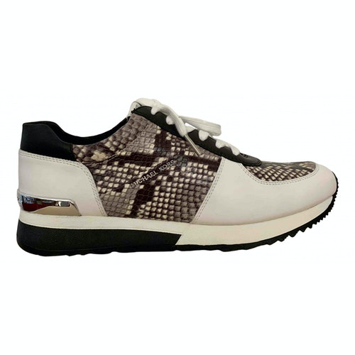 Pre-owned Michael Kors Multicolour Leather Trainers