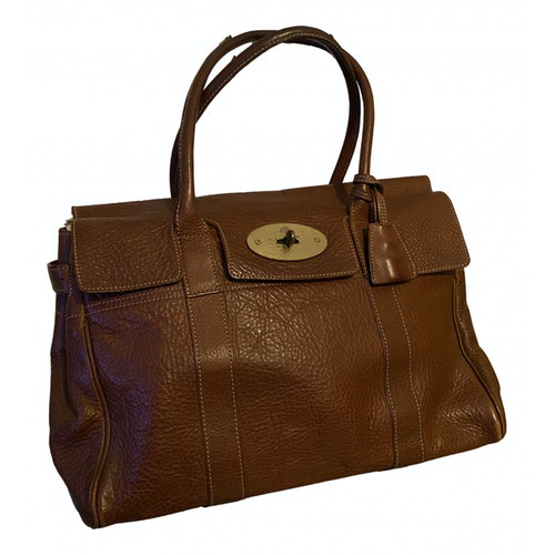 Pre-owned Mulberry Bayswater Brown Leather Handbag