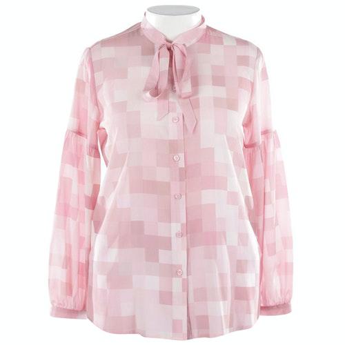 Pre-owned Steffen Schraut Pink Silk  Top