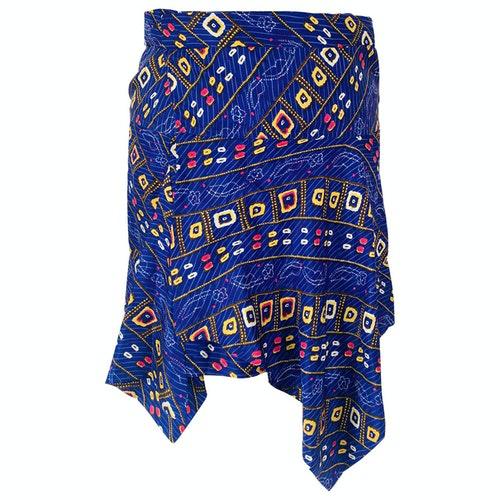 Pre-owned Isabel Marant Purple Silk Skirt