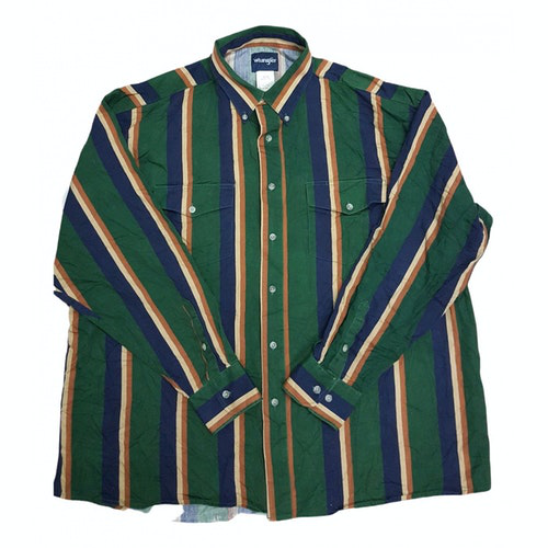 Pre-owned Wrangler Cotton Shirts