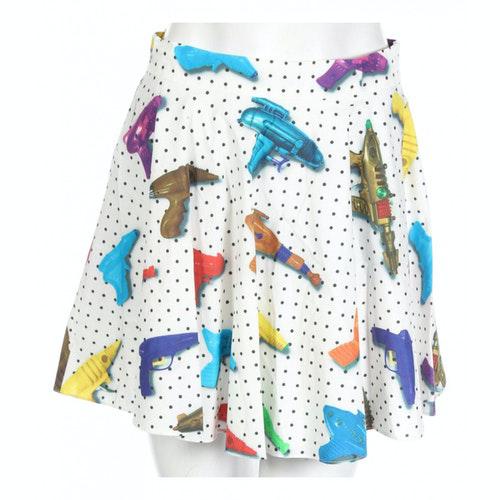 Pre-owned Jeremy Scott Multicolour Cotton Skirt