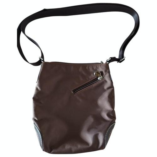 Pre-owned Lancel Brown Cloth Handbag
