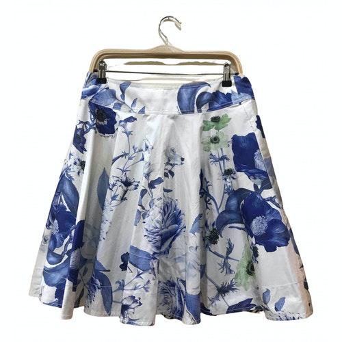 Pre-owned Roberto Cavalli Multicolour Cotton Skirt