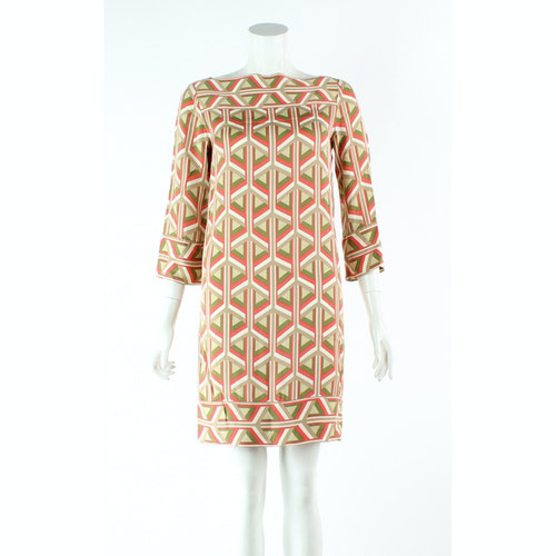 Pre-owned Diane Von Furstenberg Multicolour Silk Dress