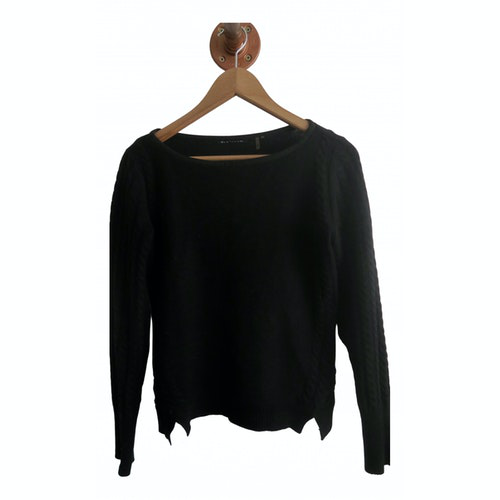 Pre-owned Elie Tahari Black Cashmere Knitwear