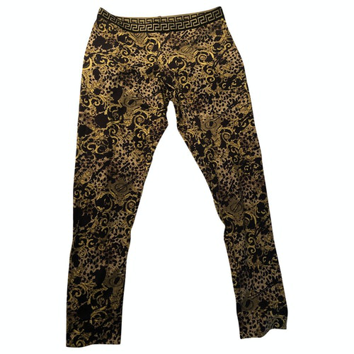 Pre-owned Versace Multicolour Trousers