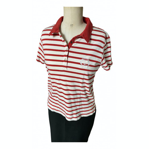 Pre-owned Saint James Red Cotton  Top