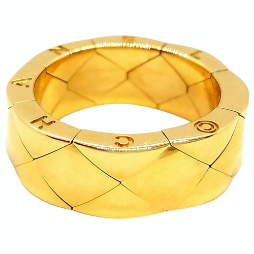 Pre-owned Chanel Gold Yellow Gold Ring
