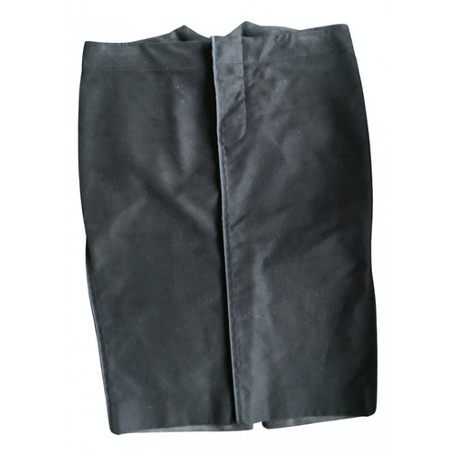 Pre-owned Gucci Black Cotton Skirt