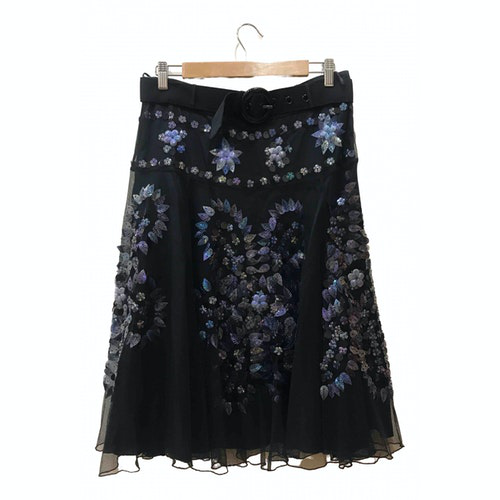 Pre-owned Moschino Cheap And Chic Black Cotton Skirt
