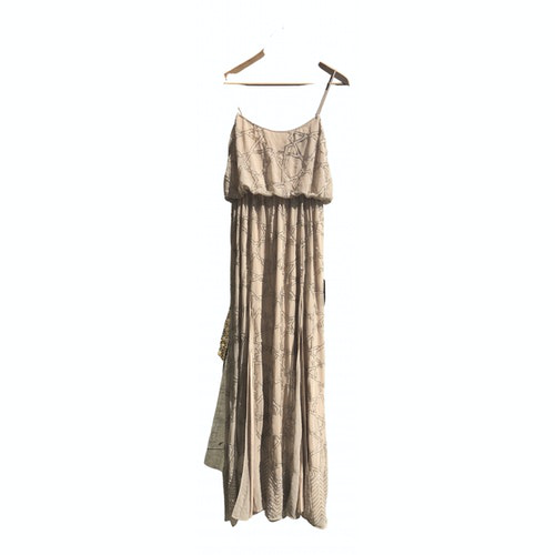 Pre-owned Needle & Thread Beige Dress