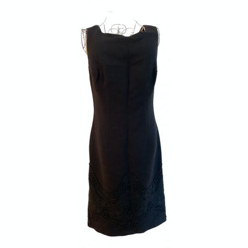 Pre-owned Dolce & Gabbana Black Wool Dress