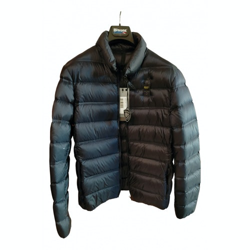 Pre-owned Blauer Blue Jacket