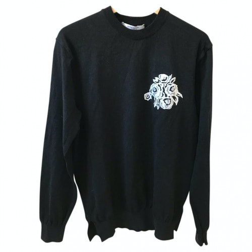 Pre-owned Givenchy Black Cotton Knitwear & Sweatshirts