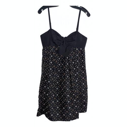 Pre-owned Bcbg Max Azria Black Silk Dress